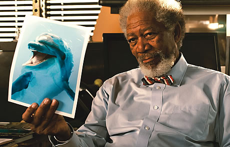 Morgan Freeman, 'Dolphin Tale'